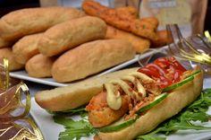 Roppanós hot-dog kifli 6db Hot Dog Buns, Hot Dogs, Hamburger, Bread, Ethnic Recipes, Food, Brot, Essen, Baking