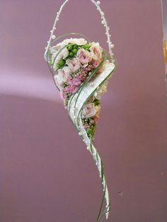 Very unique bridal bouquet.
