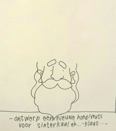 Tekenboek: ontwerp een nieuwe muts voor de Sint