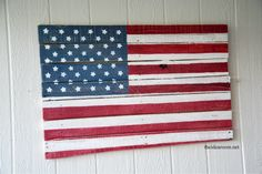 How-to make pallet flag
