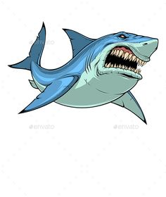 Buy Fierce Shark Attacks by on GraphicRiver. Vector graphics Install any size without loss of quality. Cartoon Tattoos, Cartoon Drawings, Animal Sketches, Animal Drawings, Traditional Shark Tattoo, Hai Tattoos, Graffiti Art, Graffiti Drawing, Shark Illustration