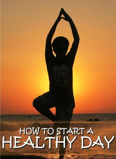 Find out what's needed to start your day and boost your energy. Healthy Ways To Start Your Day With #health #natural #remedies