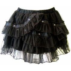 #mystyle #gothic #skirt #rock #spitze #lace #black #short