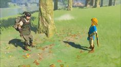 """""""How many times do I have to--"""" ~ Link right before the big metal box slams into the Yiga Clan foot soldier. The Legend Of Zelda, Legend Of Zelda Memes, Legend Of Zelda Breath, Yiga Clan, Beste Gif, Video Game Memes, Video Games, Botw Zelda, Les Gifs"""