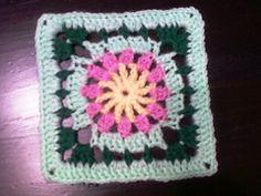 Ravelry: Little Flower Square 6x6 pattern by Donna Mason-Svara