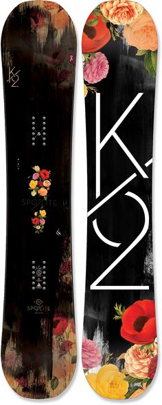 K2 Spot Lite - Snowboard - If I could snowboard this is probably the look I would like :)