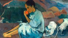 Paul Gauguin, Where Do We Come From? What Are We? Where Are We Going? (detail) on ArtStack #paul-gauguin #art