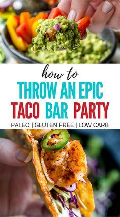 How to Throw an Epic DIY Taco Bar Party + Guacamole Recipe