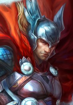 Thor. So vivid and beautiful. A god deserves as much!