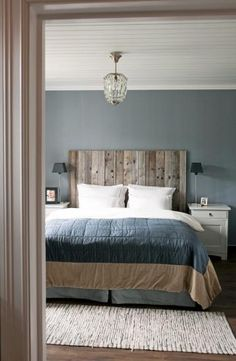 118 Elegant Interior Design Ideas for Men's Bedroom Decor - Modern Country Bedrooms, Modern Bedroom, Trendy Bedroom, Modern Country Style, Vintage Country, Vintage Modern, Vintage Wood, Home Decor Bedroom, Bedroom Furniture