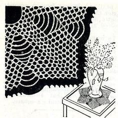 4710 Vintage Tatting PATTERN for Hexagon Tatted by BlondiesSpot, $1.99