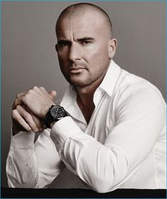 Bausele enlists Prison Break star Dominic Purcell to star in its latest campaign. Discussing Purcell's role as its newly appointed brand ambassador… Dominic Purcell, Prison Break, Bald Head Man, Estilo Bad Boy, Lincoln Burrows, Anita Blake, Fancy Watches, The Fashionisto, Star Wars
