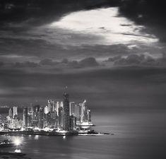 Skyline, Panama City, Study 2, Panama, 2009, Michael Kenna