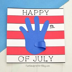 Summer Fun Use the square flag template to create a fun of July paper sign craft!Kids will trace 4th July Crafts, Fourth Of July Crafts For Kids, Patriotic Crafts, Fouth Of July Crafts, Patriotic Symbols, 4th Of July Games, Patriotic Party, Daycare Crafts, Classroom Crafts