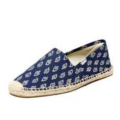"""Story  A staple of every endless summer  Soludos delivers comfortable, classic footwear that celebrates the relaxed, up-for-anything spirit of summer. The Dali slip-on is inspired by eccentric artist Salvador Dali, who used to wear espadrilles while meandering the streets of his hometown, Barcelona.  Features  Traditional slip-on """"espadrille"""" style  Lightweight fabric upper with tonal stitching Flexible woven fabric sole Fabric lining for comfort  Materials   Upper: Stitched canvas..."""