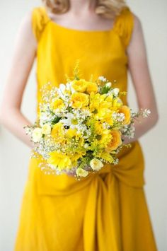 Multi-coloured Wedding #YELLOW BRIDESMAIDS ... Wedding ideas for brides & bridesmaids, grooms & groomsmen, parents & planners ... https://itunes.apple.com/us/app/the-gold-wedding-planner/id498112599?ls=1=8 … plus how to organise an entire wedding, without overspending ♥ The Gold Wedding Planner iPhone App ♥
