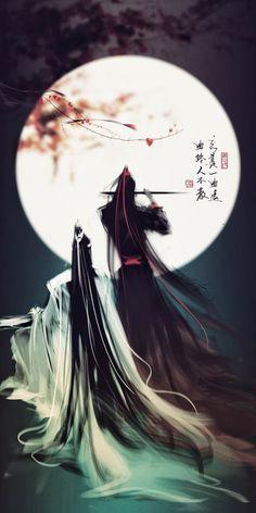 """Lan Wangji and Wei Wuxian from """"Mo Dao Zu Shi"""" L Dk Manga, Manga Anime, Madara Susanoo, Arte Ninja, Comic Anime, Japon Illustration, Scenery Wallpaper, Anime Scenery, Animes Wallpapers"""