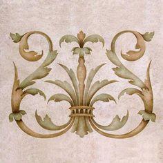 Pochoirs bricolage Wall Art - Dessins européens classiques pour Home Decor