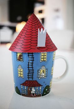 "Arabia Finland Moomin mug Muumitalo ""Moomin house"" 0.3 l CUTE #Arabia"