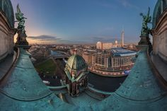 https://flic.kr/p/Btx6Au | Berlin - Dom Panorama zur blauen Stunde | © by Jean Claude Castor l 030mm - Photography  Berlin, Skyline, Panorama, Berliner Dom, 2015  www.030mm-photography.com  www.facebook.com/berlin.030mm-photography/