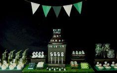 Football/Soccer party Birthday Party Ideas | Photo 1 of 14