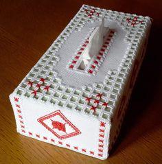 Hardanger - La boîte à mouchoirs numéro 3