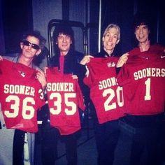 Semi Pro Football, Ou Football, Ou Game, Oklahoma Sooners Football, Boomer Sooner, University Of Oklahoma, Soundtrack To My Life, Family Traditions, Rolling Stones