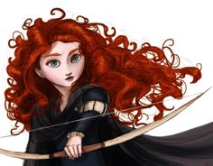 """I'm serious, Disney, there are so many artists out there who maintain Merida's concept while still considering her a princess! """"Tangled hair by *Arbetta on deviantART"""" Disney Princess Merida, New Disney Princesses, Disney And More, Disney Love, Brave Disney, Lulu Final Fantasy, Tangled Hair, Disney World Parks, Disney And Dreamworks"""