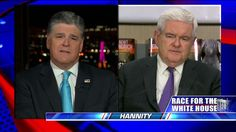 "Gingrich: Purported Undercover Videos Show 'Direct Assault on Democracy, Rule of Law' ""I think if it turns out to be a systematic organization that blocked Trump from even having a meeting in Chicago, its a direct assault on democracy and the rule of law,"" Gingrich said on Hannity."