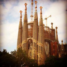 La Sagrada Familia @ Barcelona