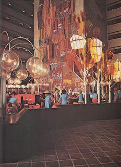 Contemporary Resort, Walt Disney World, 1970s.