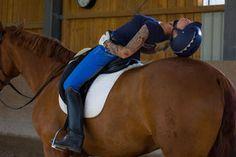 Gymnastikübungen AUF dem Pferd - fair-riding-corp Webseite!