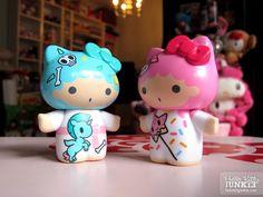 【2013】【tokidoki x Sanrio Characters】 Collectible Figure (US$18@) ★Little Twin Stars★
