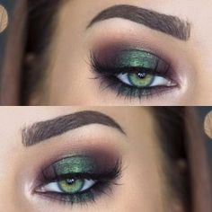 Eye Makeup For Green Eyes   Makeup Looks For Green Eyes - Part 10