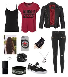 Music Passion by rubygirl645 on Polyvore featuring polyvore fashion style Sally&Circle Reiss AllSaints Paige Denim Vans Chico's Journee Collection Paul Smith NARS Cosmetics clothing