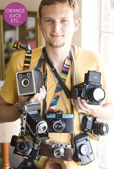 How-To: Vintage Camera Shopping // Elias from Orange Juice, Etc.