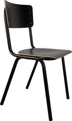 Back to School stoel zwart - Zuiver
