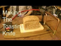 Making the Toaster Knife - YouTube Colin Furze, Electric Knife, Toaster, Butter Dish, How To Make Money, Bread, Baking, Videos, Easy