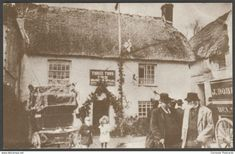 The Three Tuns in 1907, St Keverne, Cornwall, 1979 - Treleague Repro Postcard