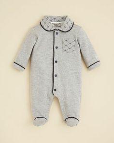 Armani Junior Infant Boys' Patch Pocket Footie - Sizes 1-9 Months  Bloomingdale's
