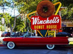 Winchell's Donut House - founded in CA in 1948 and is the west coast's largest donut chain.