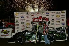 Scott Bloomquist wins $30,000 at I-80 Speedway in the Lucas Oil Late Model Dirt Series 7/19/14