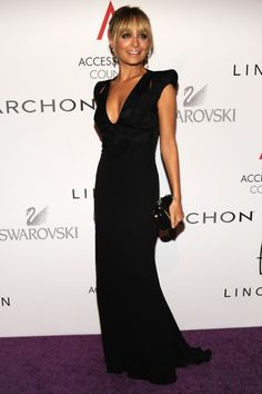 beautiful black dress for Nancy's wedding!!