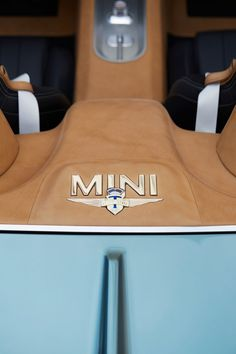 MINI Superleggera Vision Concept Interior Detail