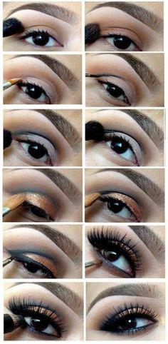 Simple Cat Eye Make Up | Beauty Ideas