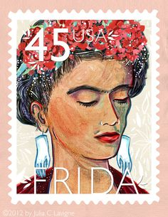 USA; First Latina on a postage stamp.