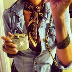louis vuitton and jean jacket