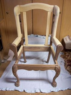 wingback chair plans - Google Search #WoodProjectsToMake