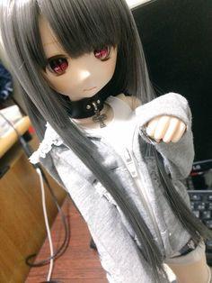 Anime Dolls, Blythe Dolls, Girl Dolls, Cute Cartoon Girl, Enchanted Doll, Beautiful Fantasy Art, Kawaii Doll, Anime Figurines, Dream Doll