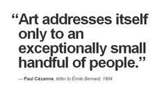 Paul CÉZANNE, letter to Émile Bernard, 1904